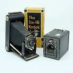 Kodak Six-16 Junior and a Kodak Brownie Six-20