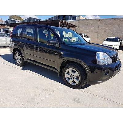 4/2008 Nissan X-trail ST (4x4) T31 4d Wagon Black 2.5L