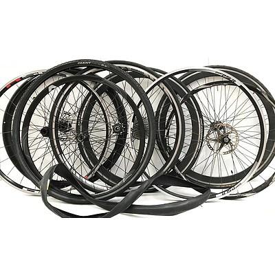 Front & Rear Road Bike Rims - Lot of 8