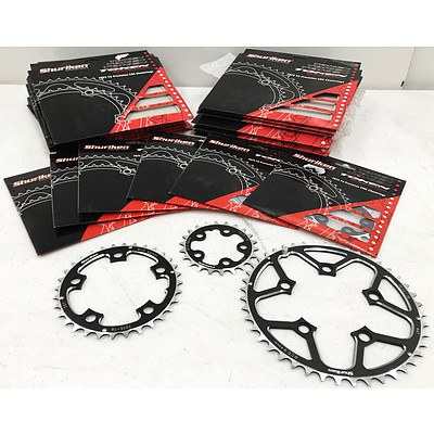 Shuriken Chainblades 7075 T6 Precision CNC Chainrings - Brand New - RRP Over $350