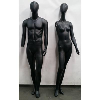 Mannequins - Full Body - Lot Of 3