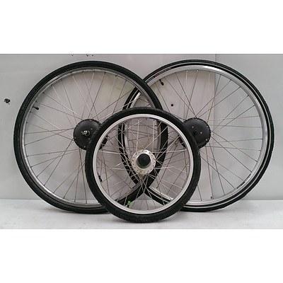 Electric Bike Wheel Lot - Vision, Sram, Nexus, Shimano & More.