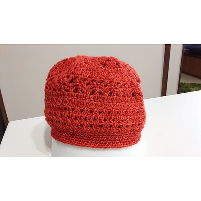 Beanie traditional style - made by Jenny Bounds