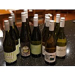 A dozen bottles of hand crafted white wines from independent wine makers in Australia and New Zealand