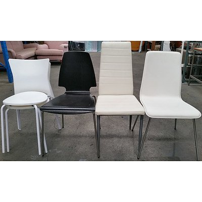 Contemporary Occasional Chairs - Lot of Five