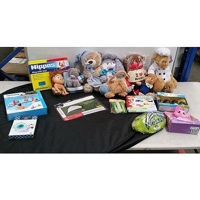Bulk Lot of Assorted Kids Toys - Brand New