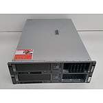 HP ProLiant DL380 G5 Dual Quad-Core Xeon (E5430) 2.66GHz & Dual Dual-Core Xeon (5130) 2.00GHz 2 RU Servers - Lot of Two