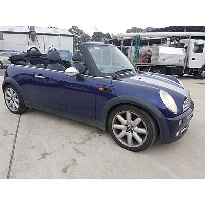 52005 Mini Cooper Cabrio R52 2d Lot 1046227 Allbids
