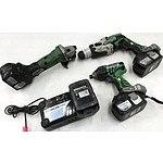 Hitachi Cordless Tools - Lot of 3