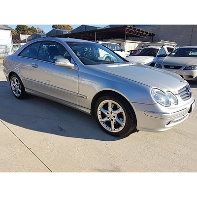 6/2004 Mercedes-Benz Clk320 Elegance C209 2d Coupe Silver 3.2L