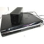 Sony DAV-DZ870W S-Master Digital Amplifier DVD Home Theatre System & TA-SA100WR Surround Amplifier