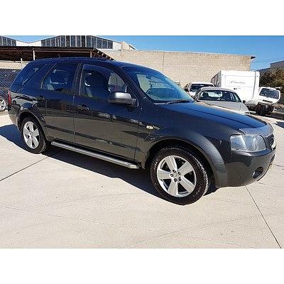 5/2006 Ford Territory SR (rwd) SY 4d Wagon Grey 4.0L