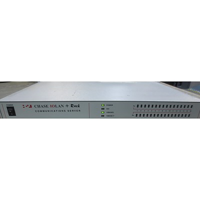 Chase Research IOLAN Rack 16 Communications server