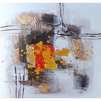 Stretched Canvas Modern Abstract