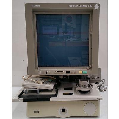 Canon M31020 Microfilm Scanner 500
