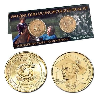 Australia 1999 $1 Coin Set