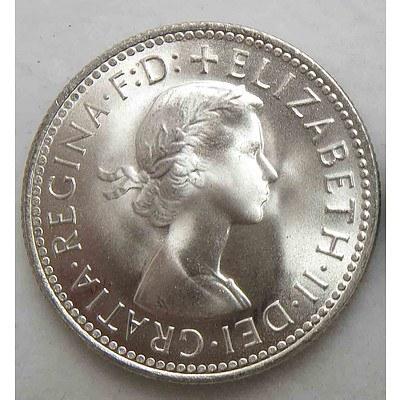 Australia Silver Shilling 1962