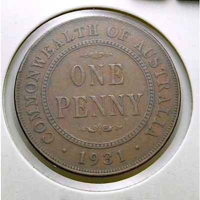 Australia George V Penny 1931