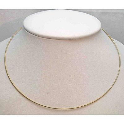 9ct Yellow Gold Cable Necklace