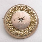 Victorian Brooch-Locket 1890-1900