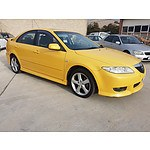11/2004 Mazda Mazda6 Luxury Sports GG 5d Hatchback Yellow 2.3L