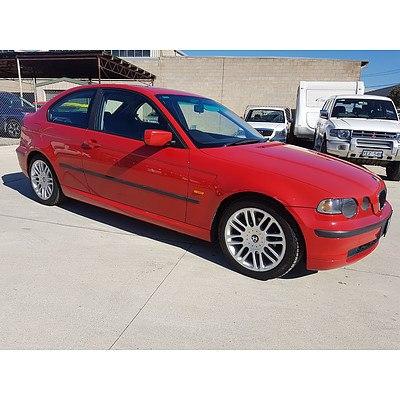 5/2003 BMW 316ti E46 3d Hatchback Red 1.8L