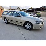 9/2008 Ford Falcon XT BF MKIII 4d Wagon Gold 4.0L