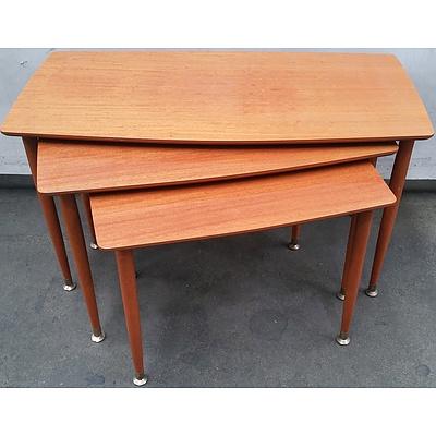 Gainsborough Furniture Retro Nest of Three Tables