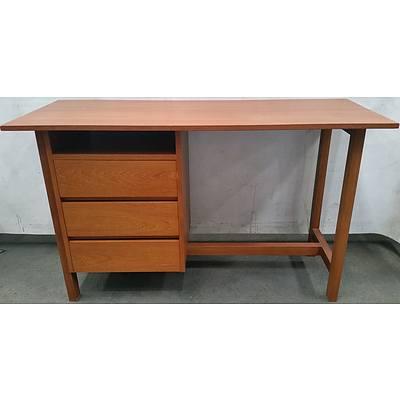 Ash Veneer Student Desk