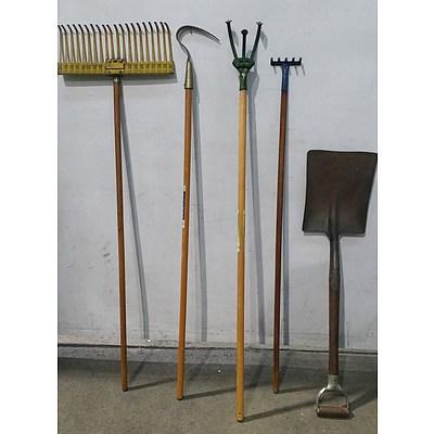 Garden Tools - Lot of Five