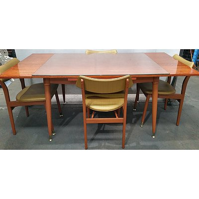 Five Piece Extension Dining Setting