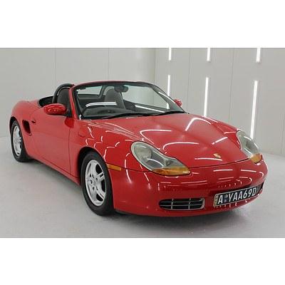 1/1998 Porsche Boxster 2d Roadster Red 2.5L