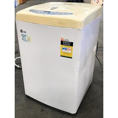 LG WF-T502C Fuzzy Logic 5.0kg Top-Loader Washing Machine