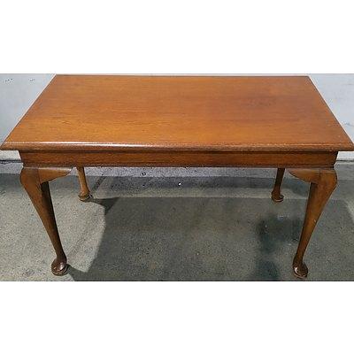 Silky Oak Coffee Table