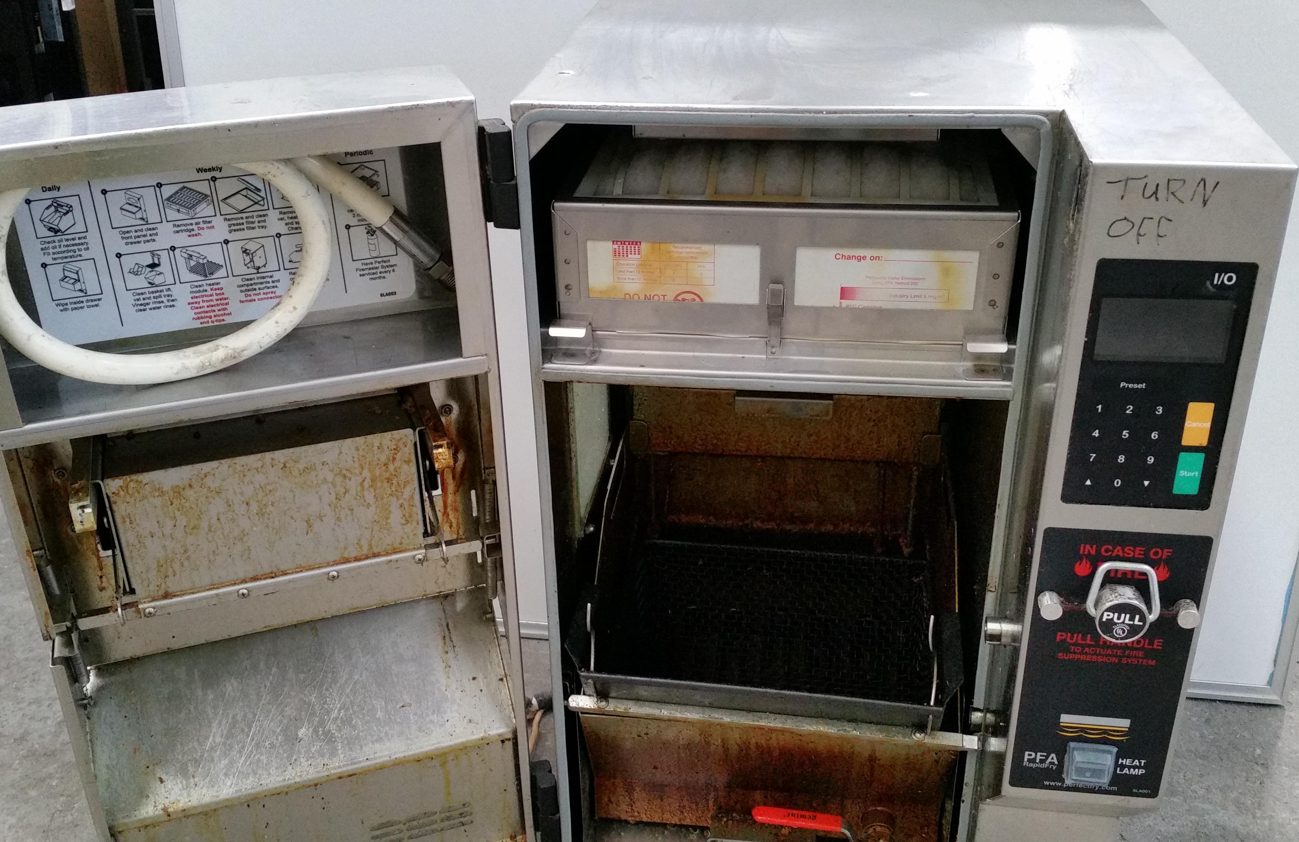 Rapid Fry PFA720 Automatic Fryer