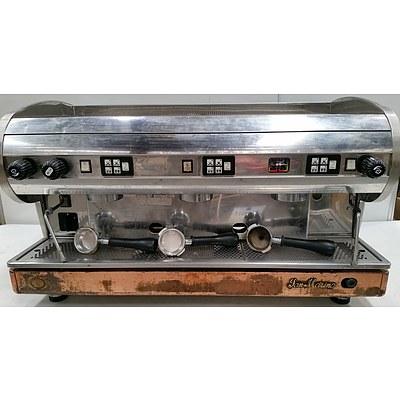 San Marino(C.M.A) Three Group Head Coffee Machine