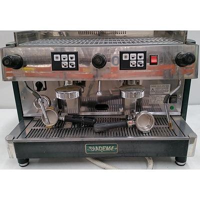 Diadema Two Group Head Coffee Machine
