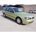 9/2004 Ford Falcon XT BA 4d Wagon Green 4.0L