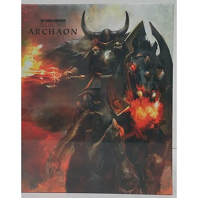 Warhammer Archaon Boxed Set of Two Books - New