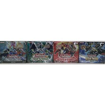 Yu Gi Oh Trading Card Game Sets - Lot of Five - New