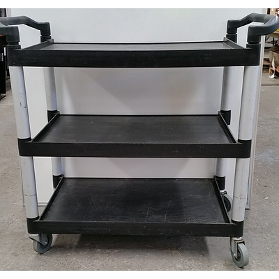Three Tier Catering Trolley