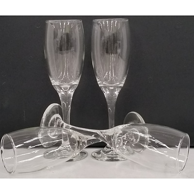 Olympia 170ml Glass Champagne Flutes - Lot of 48 - New