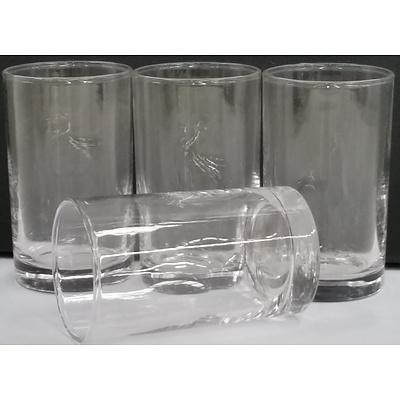 Glass Tumblers - Lot of 64 - New