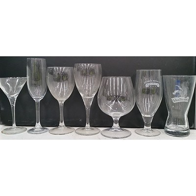Selection of Commercial Glassware