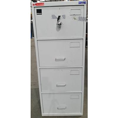Planex C Class Four Drawer Filing Cabinet