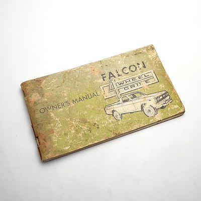 Falcon Four Wheel Drive Owners Manual