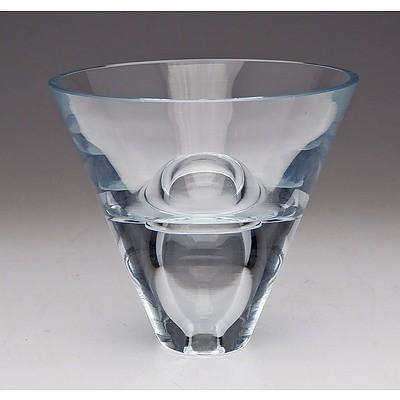 Tapio Wirkkala Glass 'Egg' Vase