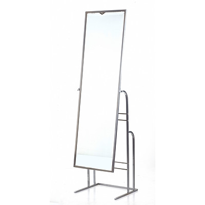 Chrome Mirror Stand