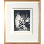 Norman Lindsay (1879-1979) The Ragged Poet, Limited Edition Facsimile Etching 526/550