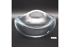 Swedish Stromberg Clear Glass Bowl